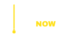 New Blinds Now Logo - White