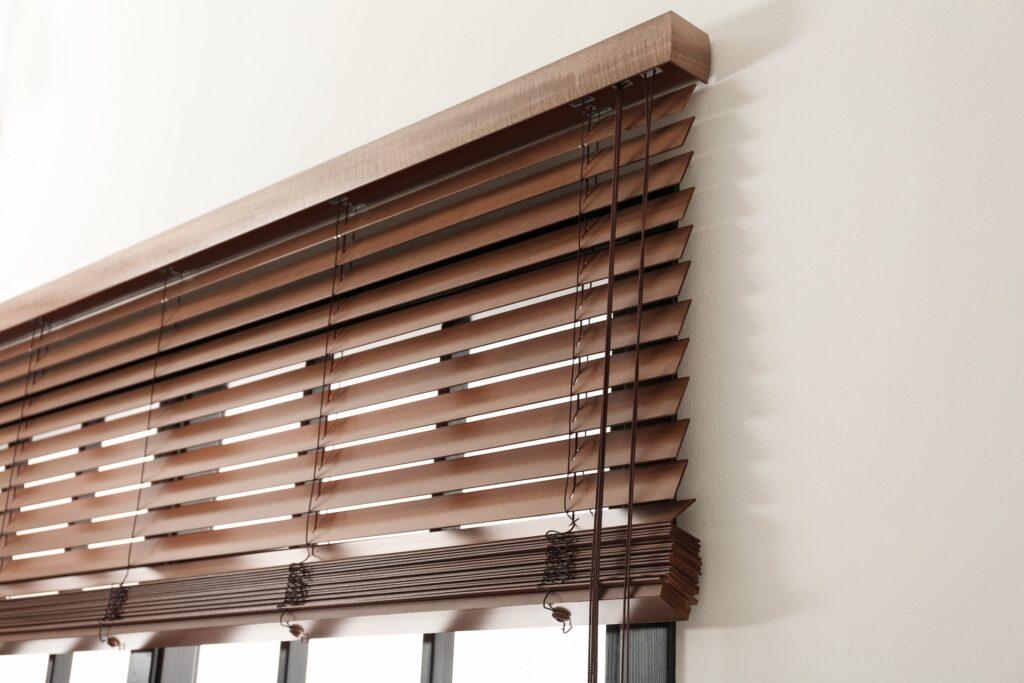 Custom Wood Horizontal Window Blinds